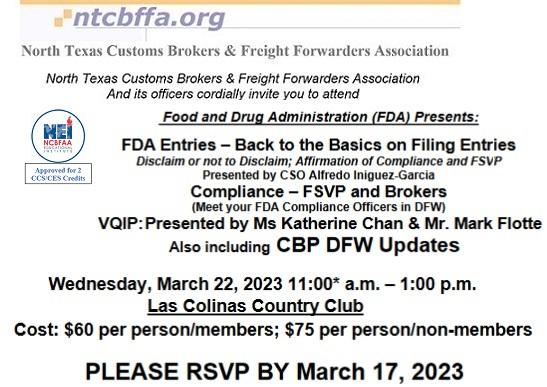 ntcbffa - Home - North Texas Customs Brokers & Freight Forwarders